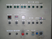 Image of Manual powder painting curing oven control panel