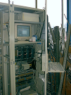 Image of New crane control cabin with recycled PLC