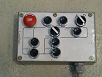 Image of Manual conveyor control panel for 5 stops