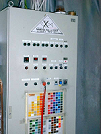 Image of Manual powder painting line control cabin