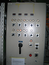 Image of Curing oven control cabin assembly and service
