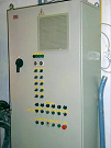 Image of Powder painting factory ventilation control cabin