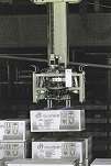 Image of Two intelligent palletizing robot systems