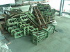 Image of Old conveyor parts before recycling