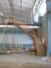 Image of Stairs to a new office to 2.nd floor