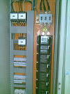 Image of Curing oven power supply and control support