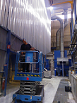 Image of Vertical powder painting line technical support